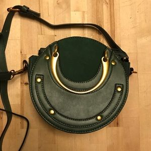 Small green purse